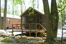 Cabin #26 - Sleeps 6 (limit of 4 adults)