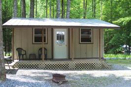Cabin # 25A - Sleeps 2