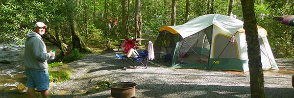 Indian Creek Campground - Campgrounds In Cherokee NC